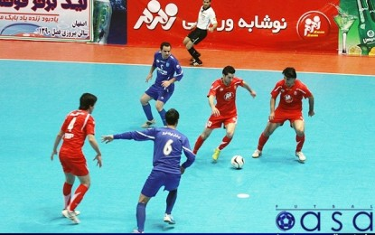 نتایج هفته سیزدهم لیگ دسته دوم فوتسال کشور