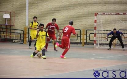 نتایج هفته چهارم مرحله نهایی لیگ دسته دوم فوتسال