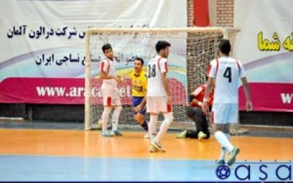 نتایج هفته هفتم مرحله نهایی لیگ دسته دوم فوتسال
