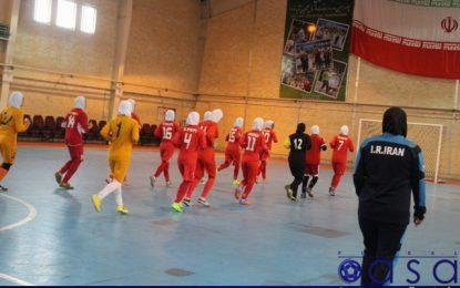 پایان اردوی تدارکاتی تیم ملی فوتسال بانوان/ ملی پوشان در اختیار باشگاههای خود قرار گرفتند