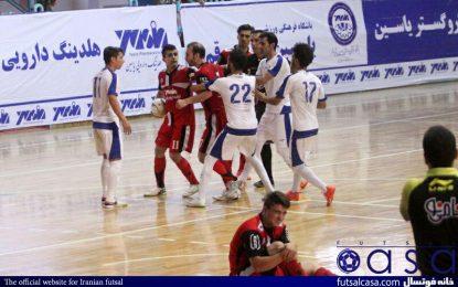 گزارش تصویری دیدار تیم های یاسین پیشروی قم و دانشگاه آزاد تهران