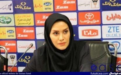 گلاره ناظمی:دوست ندارم داور بازی فینال باشم/همیشه در لیگهای ایران انتقاد از داوری زیاد است