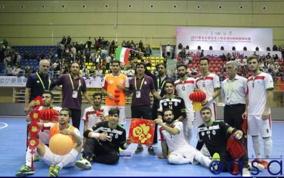 ایران با عنوان سرگروهی به جمع چهار تیم برتر رسید؛ ایران۳-قزاقستان۲/ قاضی: یک آسیا و یک ایران؛  امیدوارم سفیر خوبی باشیم