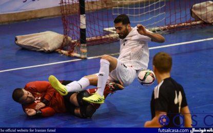 دیدار دوستانه فوتسال/ یوزهای ایران دومین بازی را هم بردند
