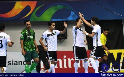 ملیپوش فوتسال خوزستان فعالیتش را در لیگ ایران ادامه می دهد