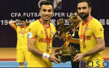قهرمانی لژیونرهای ایرانی در لیگ چین/ حسنزاده بهترین بازیکن و اسماعیلپور آقای گل شد