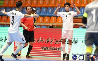 دردسرهای تیم فوتسال عراق برای بازگشت از ایران