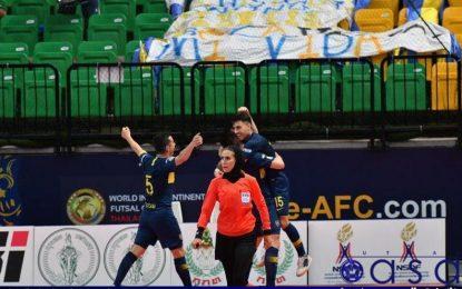 قضاوت گلاره ناظمی و چهار داور زن در جام جهانی فوتسال