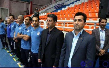جلسه کادر فنی تیم ملی فوتسال برای برگزاری بازی دوستانه و لیگ