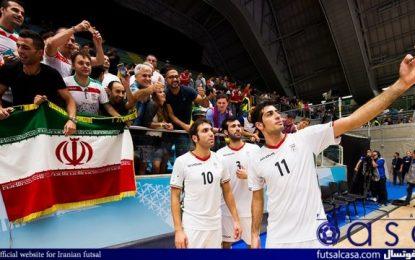 ملی پوشان فوتسال ایران عازم مشهد میشوند