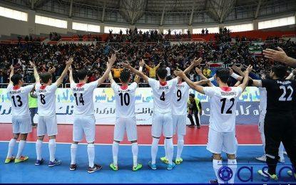 اردوی تیم لیگ برتری فوتسال در شمال کشور