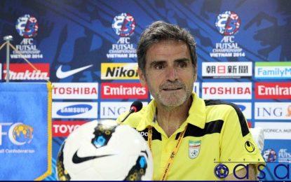 بازتاب بازگشت «کاندلاس» به تیم ملی فوتسال در AFC
