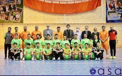آغاز تمرینات دور سوم اردوهای تیم ملی فوتسال با حضور نبی + گزارش تصویری