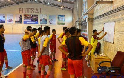 مرحله دوم تمرینات تیم ملی فوتسال هفته آینده در کیش برگزار میشود