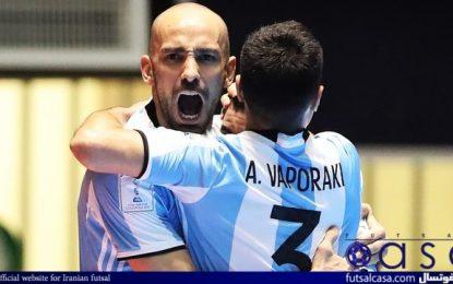 مرحله یک هشتم نهایی جام جهانی ۲۰۲۱؛ قزاقستانی ها، تایلند را در هم کوبیدند/ آرژانتین با یک کامبک از دیدار سخت مقابل پاراگوئه عبور کرد