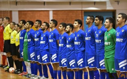 دعوت کویتیها از تیم ملی فوتسال برای انجام بازی دوستانه