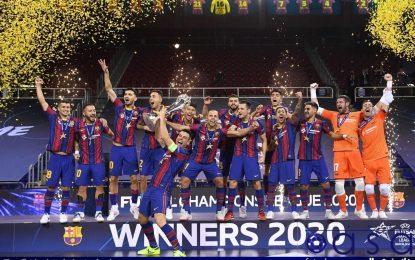 بارسلونا قهرمان لیگ قهرمانان فوتسال اروپا شد