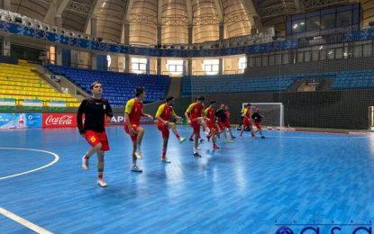 تصاویری از ریکاوری تیم ملی فوتسال بعد از بازی با ازبکستان