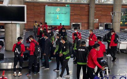 بازگشت کاروان ملی پوشان فوتبال و فوتسال به تهران