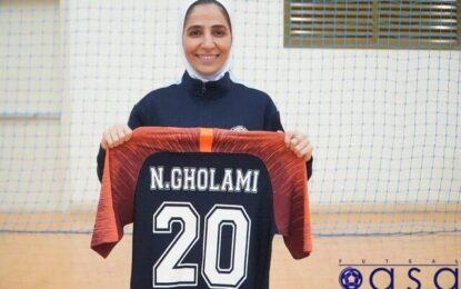 کاپیتان تیم ملی فوتسال بانوان ایران لژیونر شد