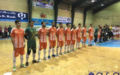 تمرین تیم فوتسال شهید منصوری همچنان بدون سرمربی