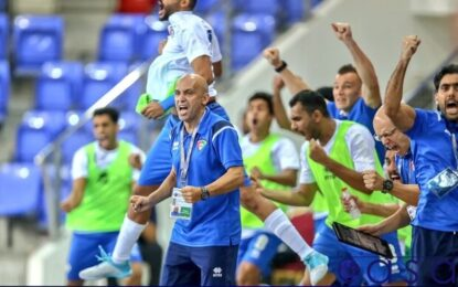 اعتراض سرمربی تیم ملی فوتسال کویت/ تصمیم AFC عادلانه نیست