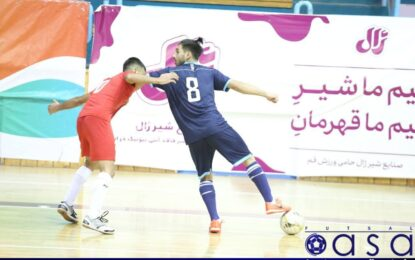 لیگ برتر امید؛ گزارش تصویری دیدار شهروند ساری و نماینده رشت