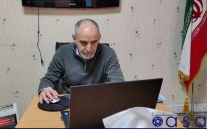 برگزاری وبینار آموزشی داوران لیگ برتر فوتسال بانوان