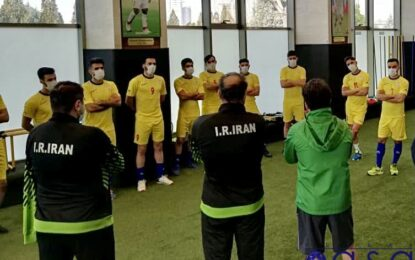 ششمین مرحله اردوی تیم ملی فوتسال هفته آینده شروع میشود