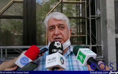 شمس: لیگ دسته اول در حد لیگ برتر است/ عزیزی خادم قول داد به فوتسال توجه بیشتری کند