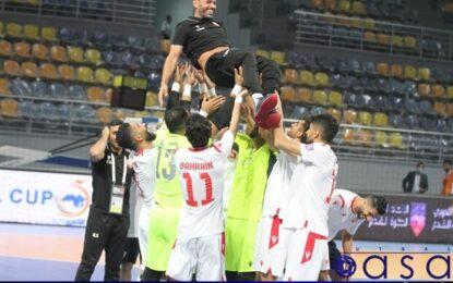 مصر برابر کویت متوقف شد/ صعود تیم ملی بحرین به مرحله نیمه نهایی فوتسال کشورهای عربی