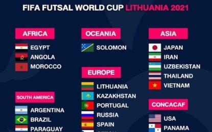 ۲۴ تیم حاضر در جام جهانی فوتسال مشخص شدند