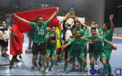 قهرمانی مراکش با پیروزی پر گل مقابل مصر در فینال فوتسال کشور های عربی