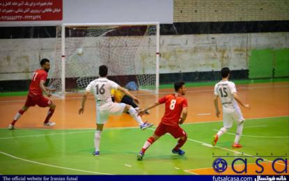 گزارش تصویری دیدار دو تیم سن ایچ ساوه و گیتی پسند اصفهان