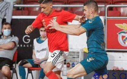 گل بیثمر طیبی در نخستین فینال لیگ برتر فوتسال پرتغال/ بنفیکا در آستانه از دست دادن قهرمانی