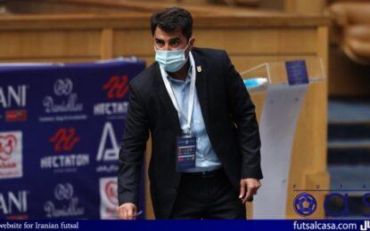 ناظم الشریعه: بازیکنان جوان بخاطر عملکرد خوبشان به تیم دعوت شدند