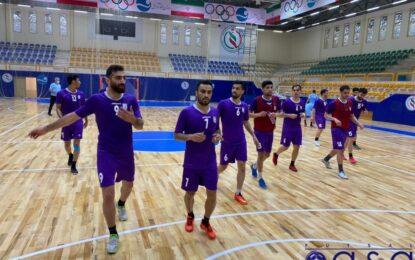 تمرینات تیم ملی فوتسال ایران به پایان رسید