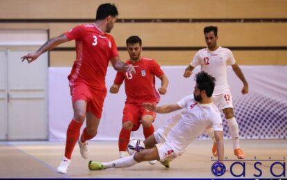 گزارش تصویری بازی درون تیمی تیم ملی فوتسال