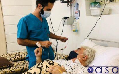 حسین شمس در ICU بستری شد!