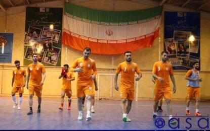 گزارش تصویری تمرین تیم ملی فوتسال در مرکز تیم های ملی
