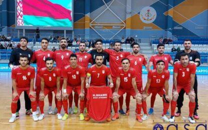 """اولین جدال ایران در جام جهانی فوتسال ۲۰۲۱/ """"یوزها"""" به دنبال هتتریک مقابل صربستان"""