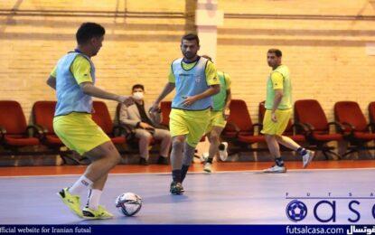 اولین تمرین تیم ملی فوتسال امروز برگزار شد