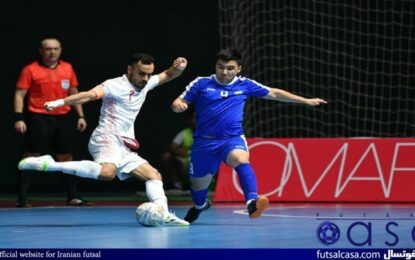 ازبکها در پی انتقام از فوتسالیستهای ایرانی در جام جهانی