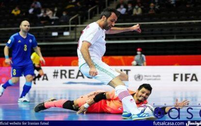 اظهارات دروازه بان تیم ملی فوتسال قزاقستان بعد از پیروزی برابر ایران