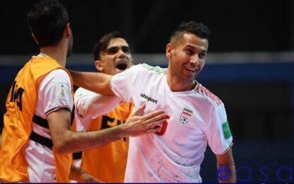 طلسم شکنی تیم ملی فوتسال ایران در بازی با صربستان