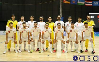 تمجبد AFC از شاگردان ناظمالشریعه/ فوتسال ایران مدعی قهرمانی در جام جهانی