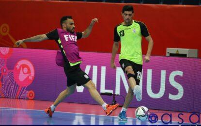 گزارش تصویری تمرین تیم ملی قبل از دیدار با صربستان