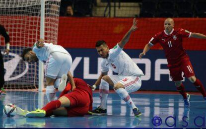 واکنش فیفا به برد تیم ملی فوتسال کشورمان