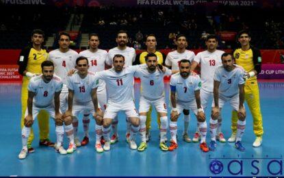 ایران یکی از ترسناکترین تیمهای جامجهانی فوتسال است