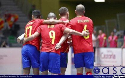 نتایج آخرین بازی های دوستانه پیش از جام جهانی فوتسال